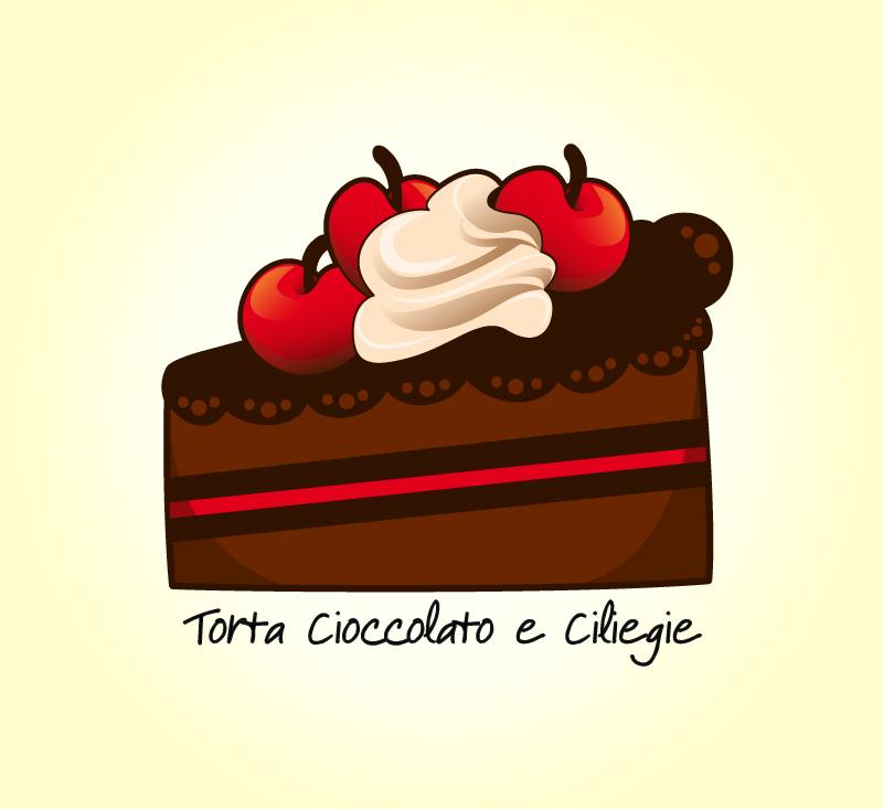 8 Tutorial Come Disegnare Una Fetta Di Torta Al Cioccolato Con