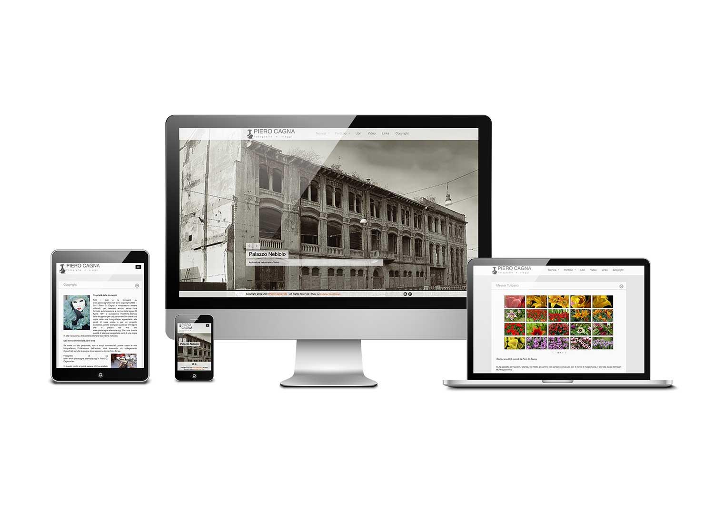 Sito piero cagna foto fandango visual design for Siti web di home plan